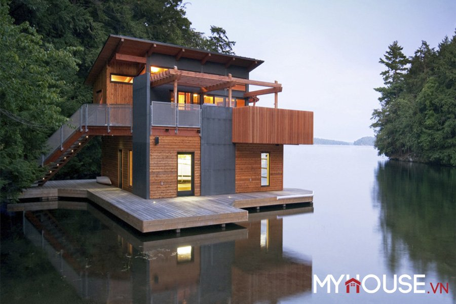 Nhà vườn đẹp Boathouse – Christopher Simmonds
