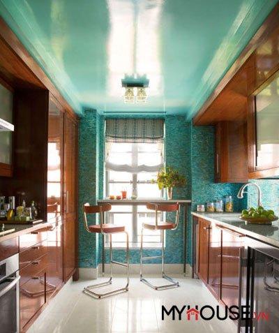 Ý tưởng cho phòng bếp nhỏ xinh mà ấm cúng