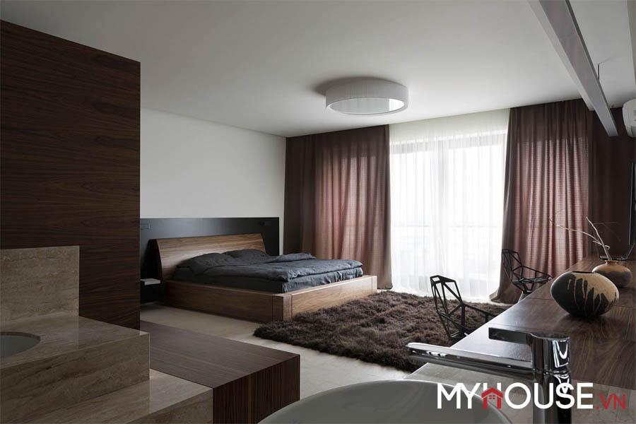 căn hộ hiện đại chọn hướng đón nắng cho phòng ngủ giúp thêm năng lượng